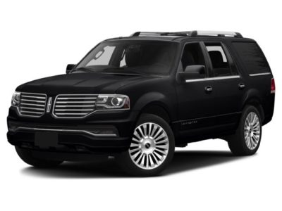 Picture of a black lincoln navigator