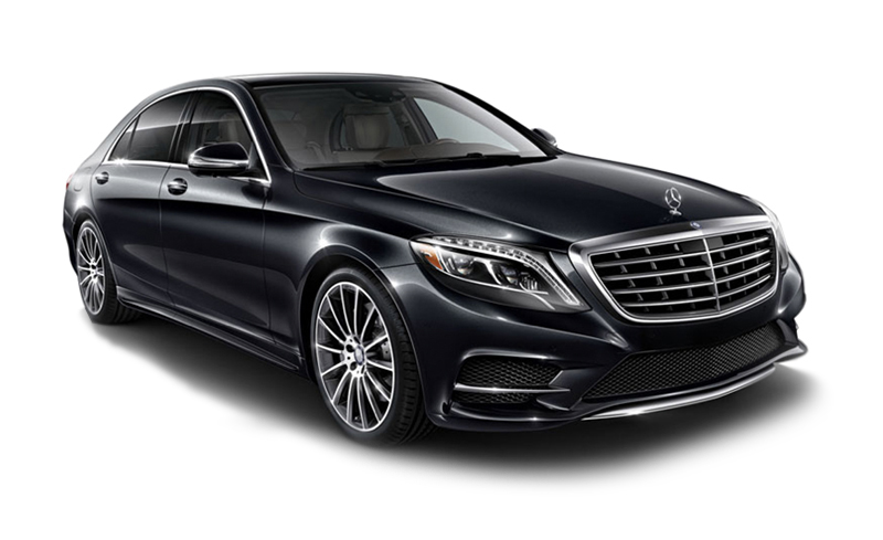 Luxury sedan chicago lincoln limo for Mercedes benz rental chicago